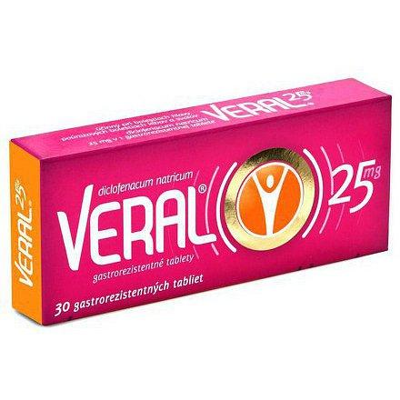 Veral tablety 30ks