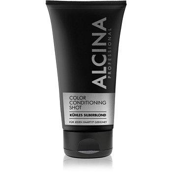 Alcina Color Conditioning Shot Silver tónovací balzám pro zvýraznění barvy vlasů odstín Cold Silver Blond 150 ml