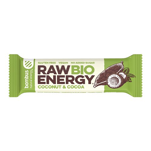 Bombus BIO ENERGY Coconut a cocoa 50g