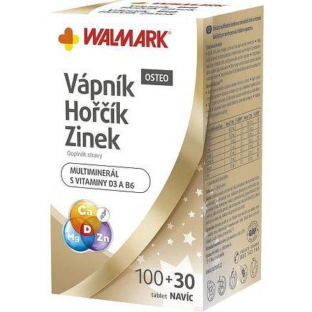 Walmark Vápník Hořčík Zinek OSTEO 100+30 tbl.