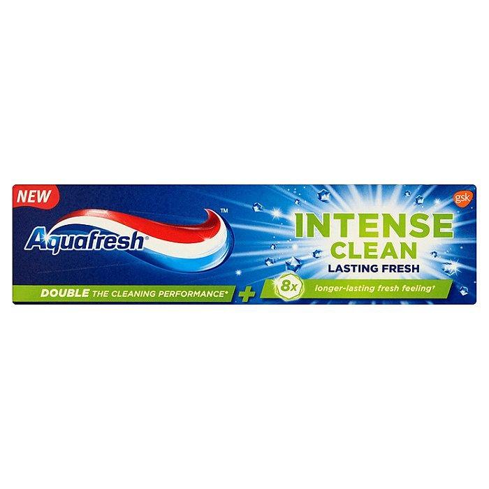 Aquafresh Intense Clean Lasting Fresh zubní pasta pro svěží dech 75 ml