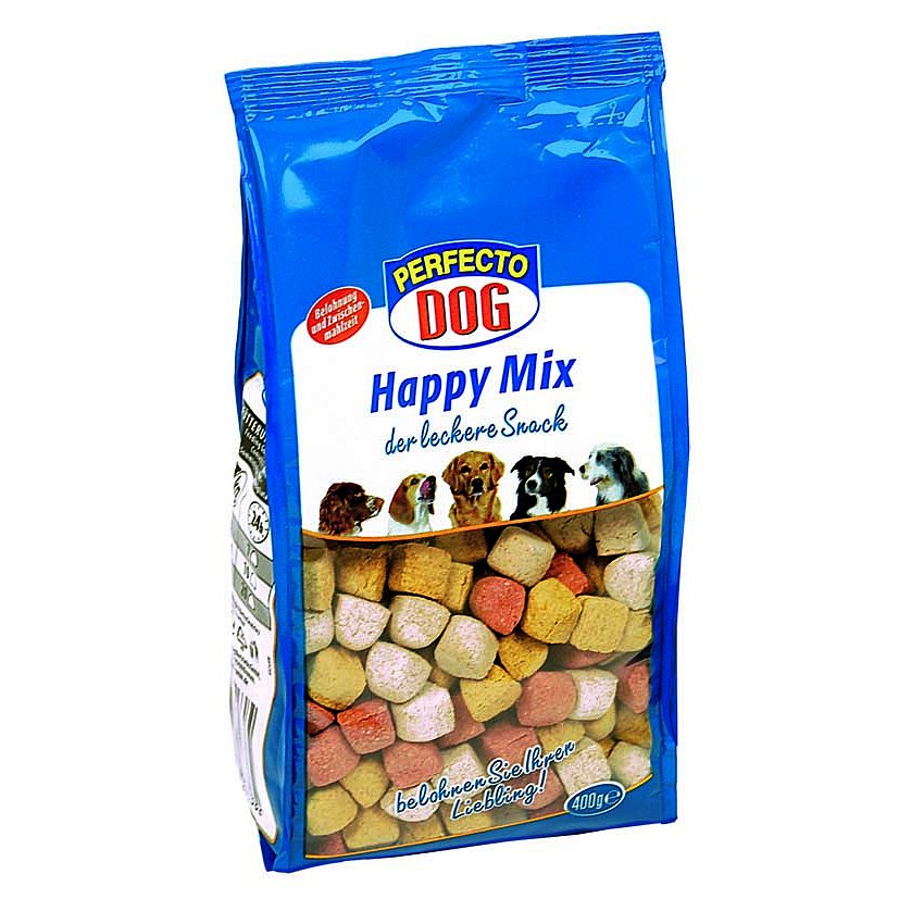 Perfecto Dog Happy Mix sušenky 400g
