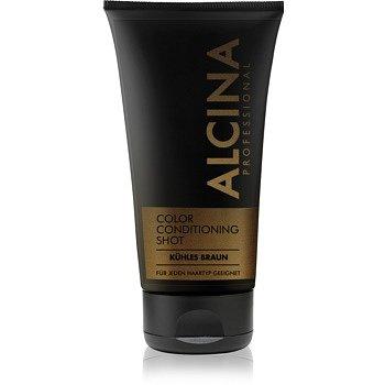 Alcina Color Conditioning Shot Silver tónovací balzám pro zvýraznění barvy vlasů odstín Cold Brown 150 ml