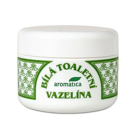 AROMATICA Bílá toaletní vazelína s vitamín E 100 ml