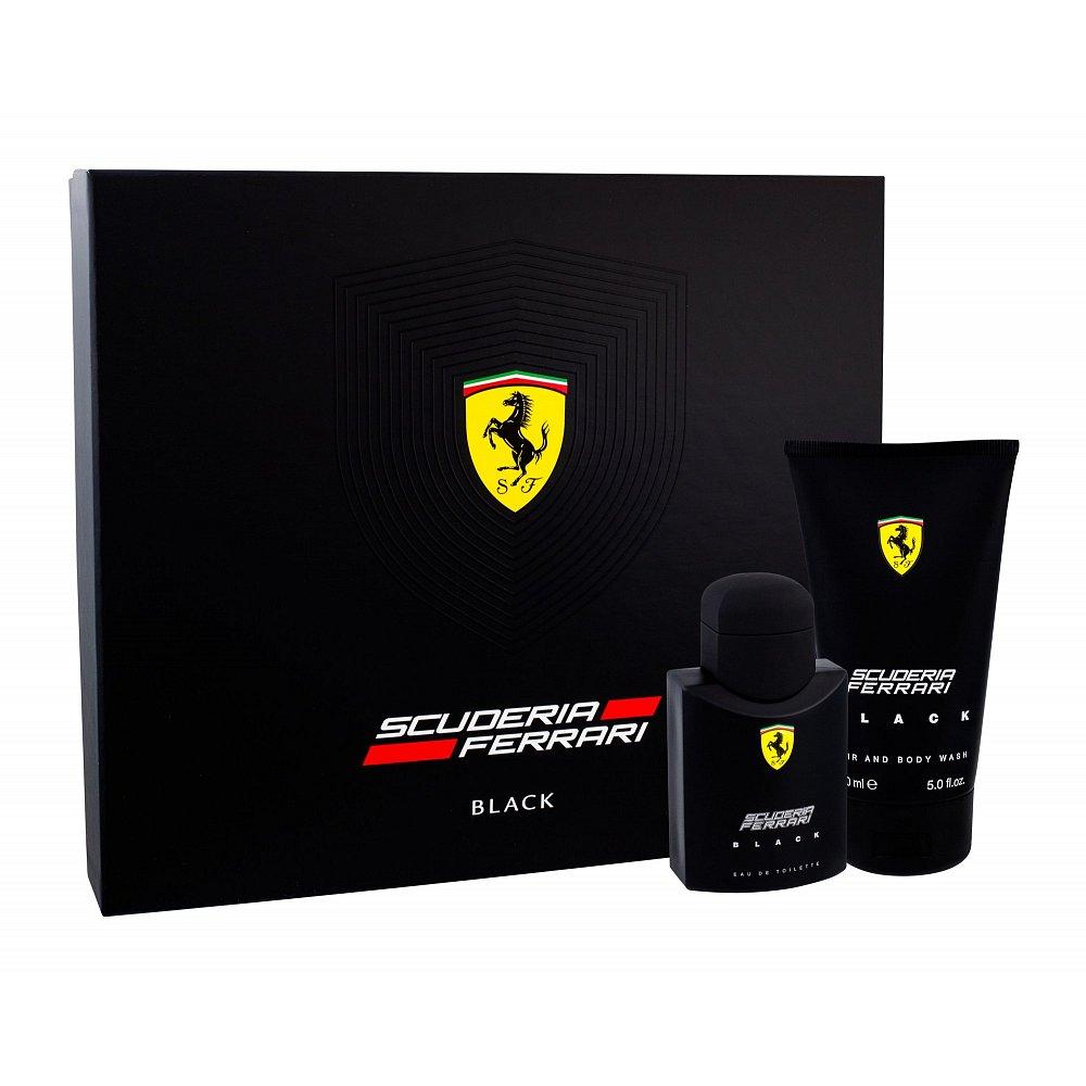FERRARI Scuderia Ferrari Black Toaletní voda 75 ml + Sprchový gel 150 ml