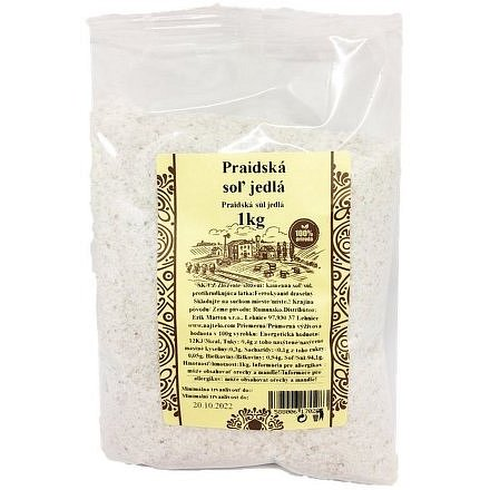Praidská sůl jedlá 1kg