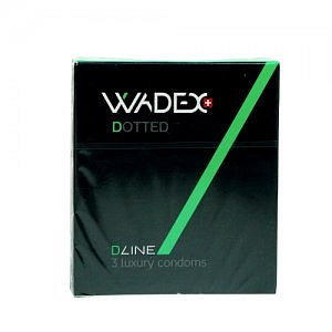 WADEX Dotted kondomy 3ks