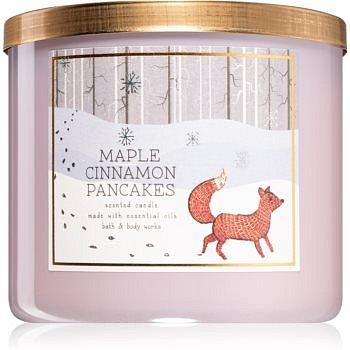 Bath & Body Works Maple Cinnamon Pancakes vonná svíčka I. 411 g