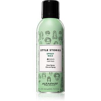 Alfaparf Milano Style Stories Spray Wax vosk na vlasy ve spreji