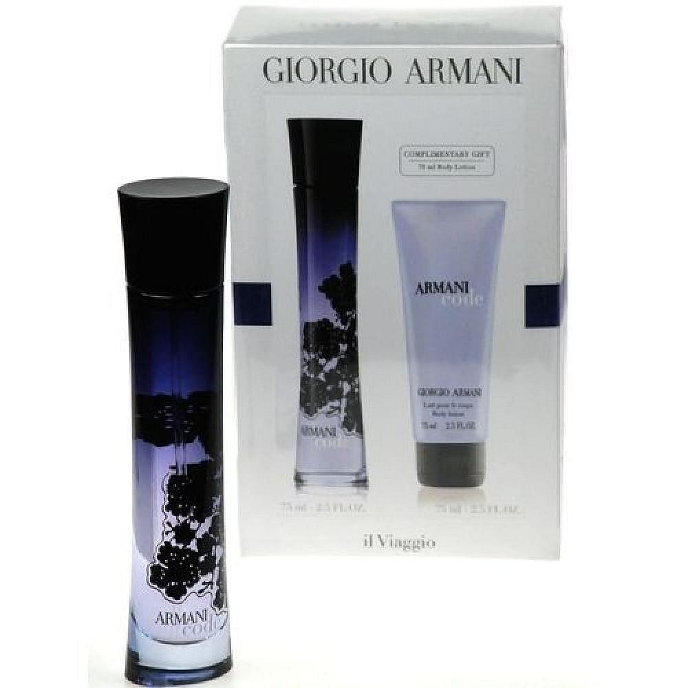 Giorgio Armani Code Parfémovaná voda 75ml Edp 75ml + 75ml tělové mléko