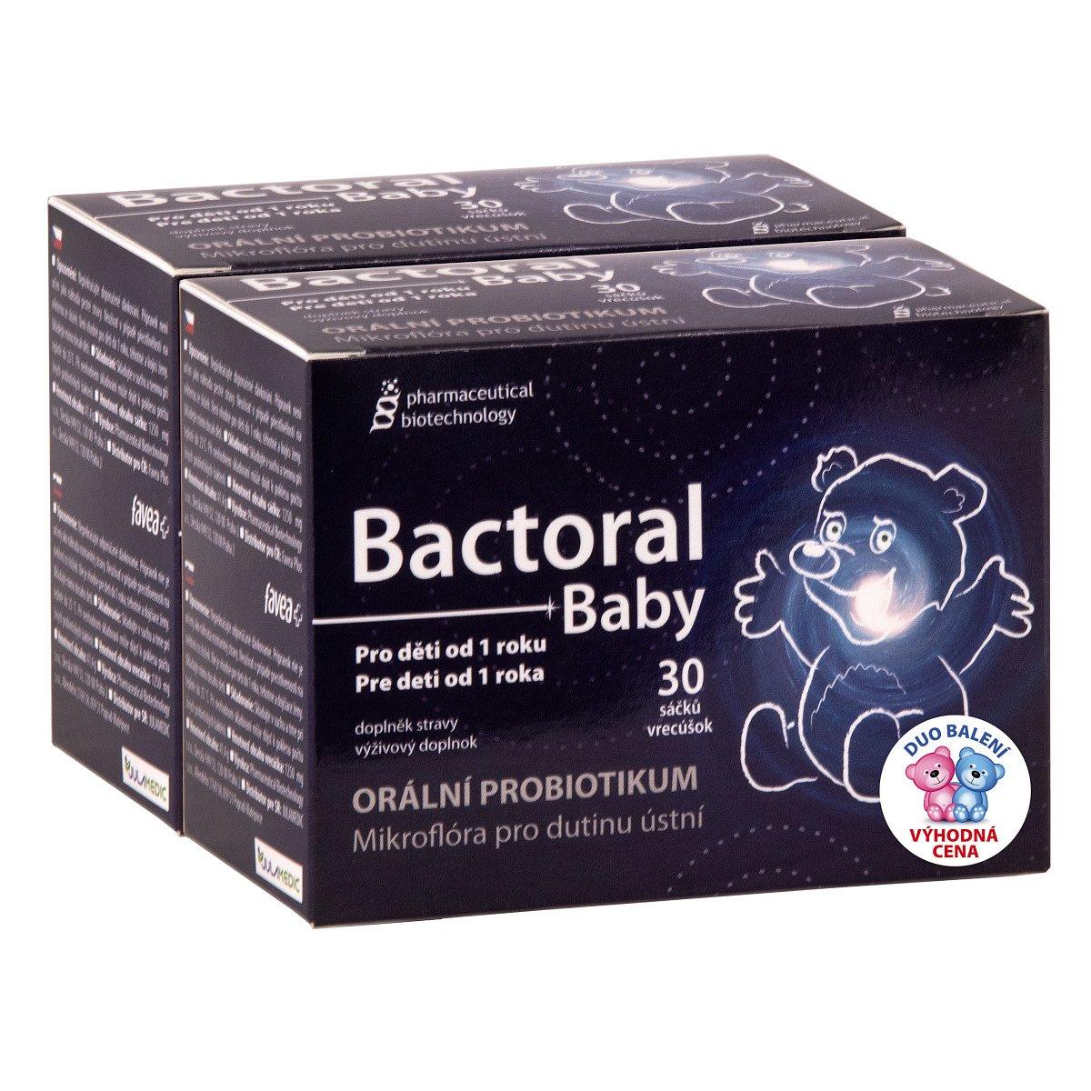Bactoral baby 2x30 sáčků