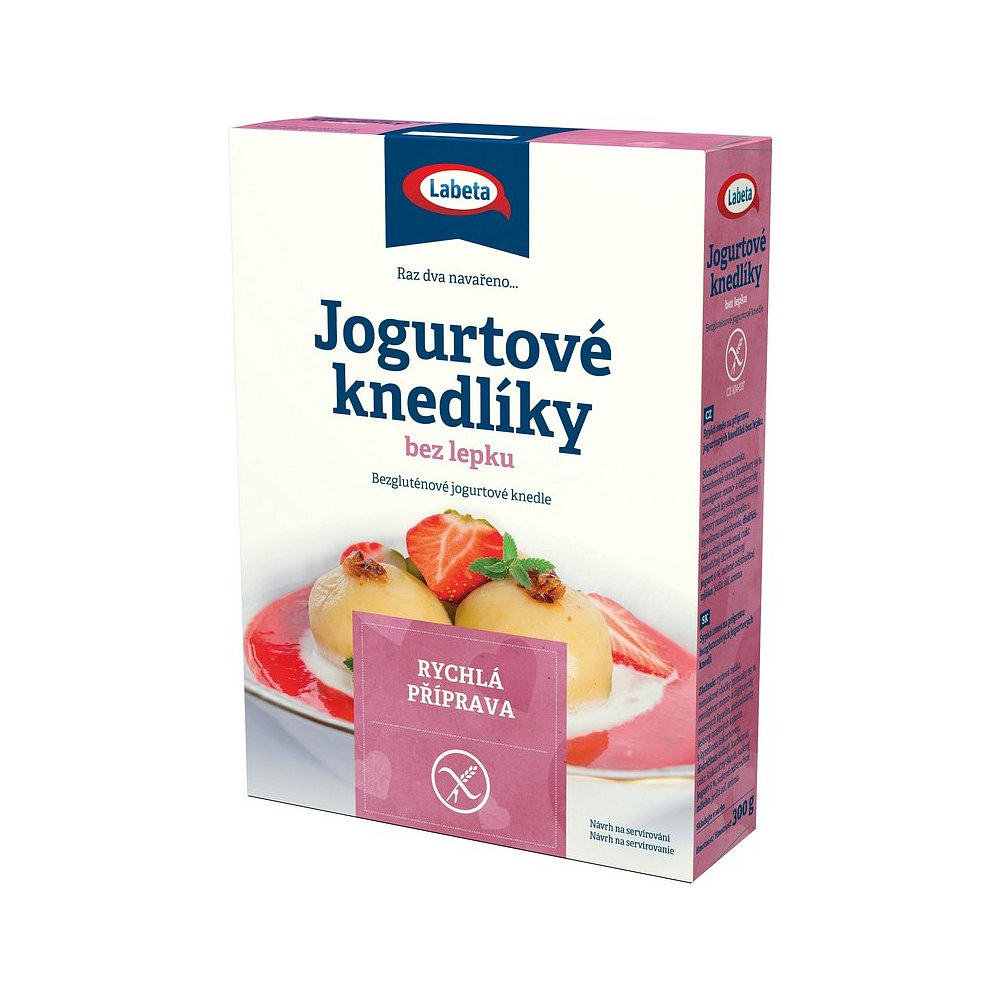 LABETA Jogurtové knedlíky bez lepku 300 g