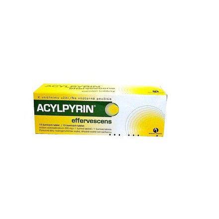 Acylpyrin 15 šumivých tablet