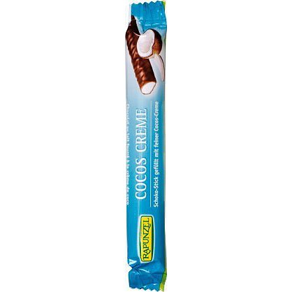Bio čokoládová tyčinka kokosový krém 22g RAPUNZEL
