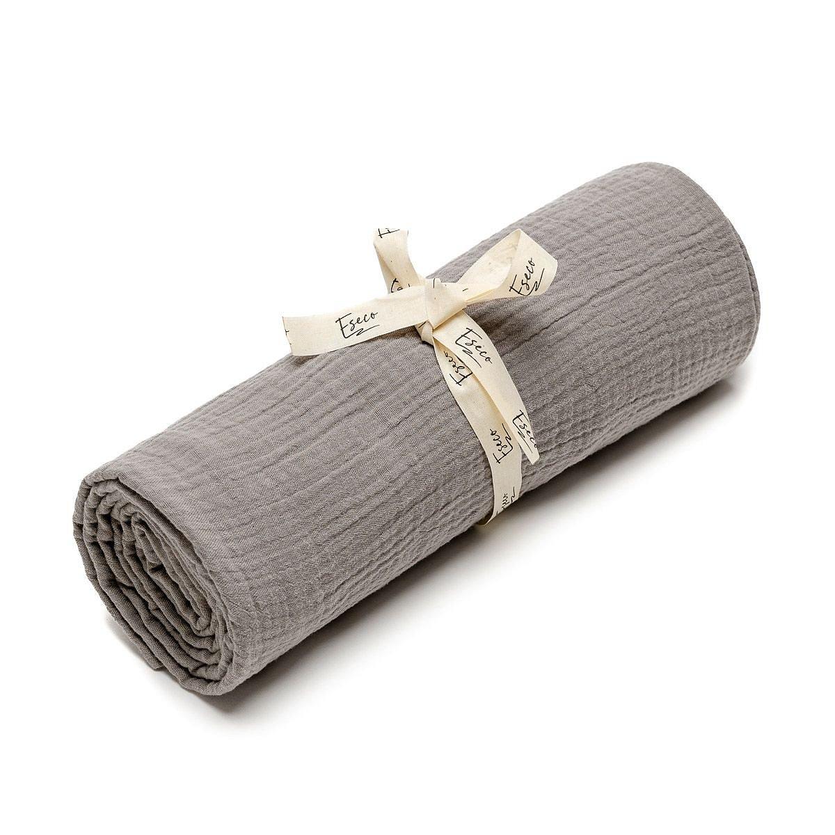 ESECO Mušelínová osuška 1 ks grey