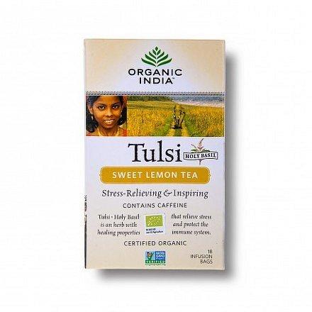 Tulsi sladký citron BIO 18 sáčků Organic India*