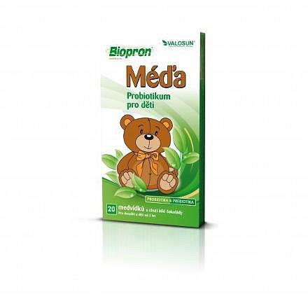 Biopron MÉĎA 20ks probiotických medvídků