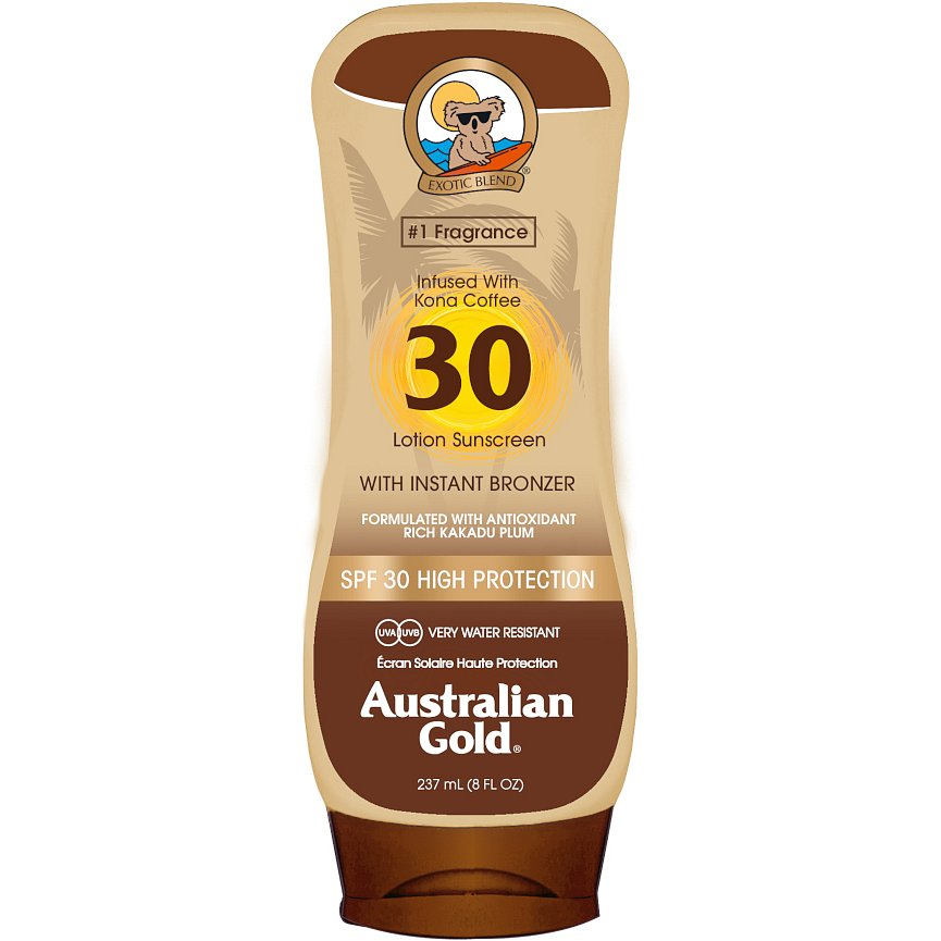 Australian Gold Lotion + Bronzer SPF30 237ml