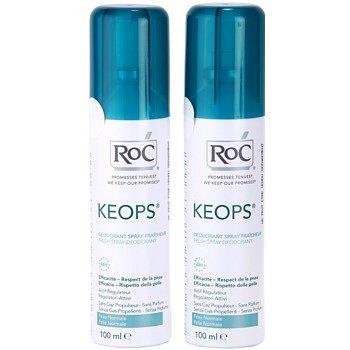 RoC Keops deodorant ve spreji 48h 2 x 100 ml