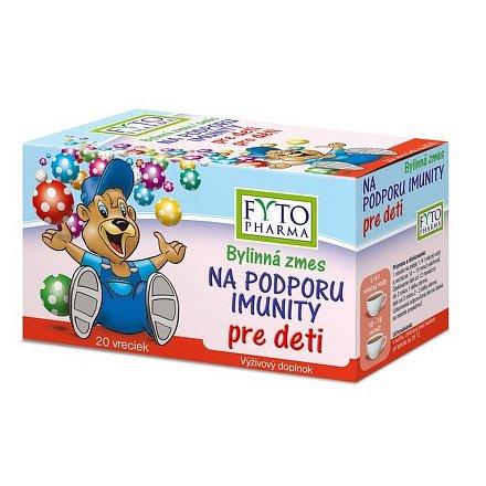 Bylinná směs na podporu imunity dětí 20x1.5g Fytopharma