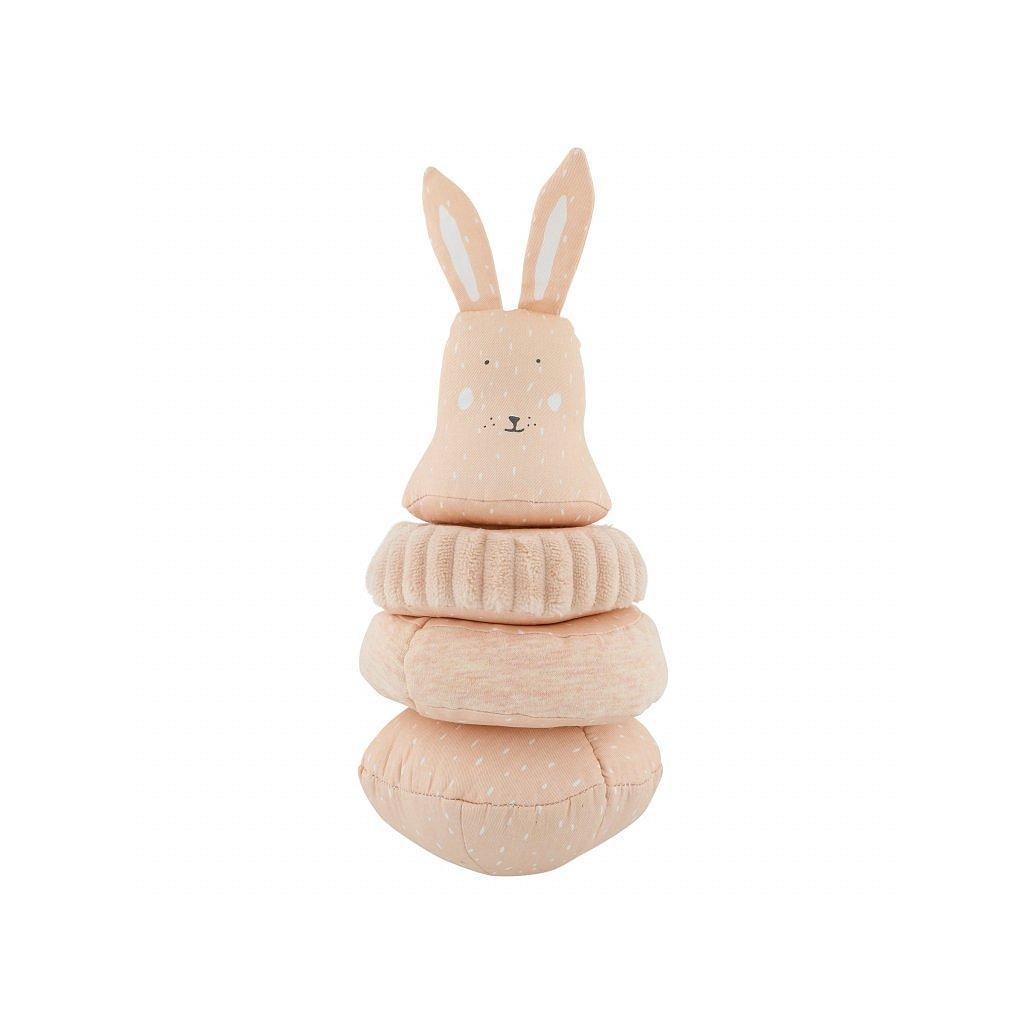 Trixie Stohovací plyšová hračka Mrs. Rabbit