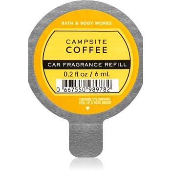 Bath & Body Works Campsite Coffee vůně do auta náhradní náplň 6 ml