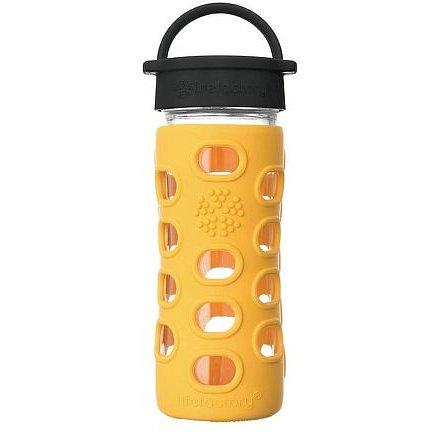 Lifefactory láhev s klasickým uzávěrem 350ml marigold