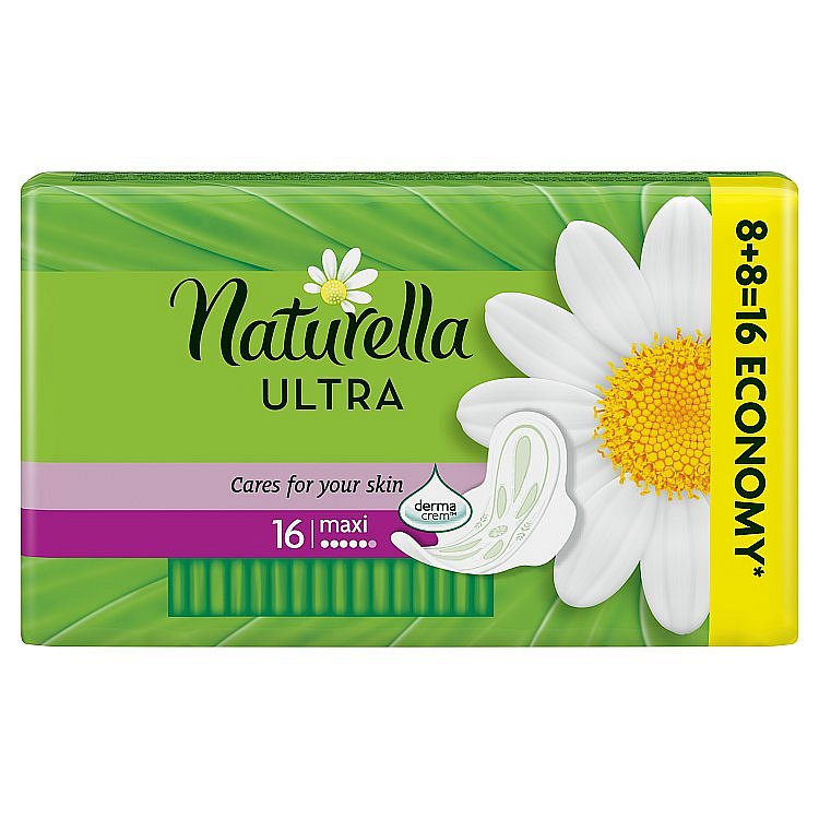 Naturella Ultra Camomile Max vložky 16 ks