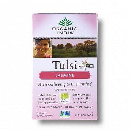Tulsi jasmín BIO 18 sáčků Organic India*