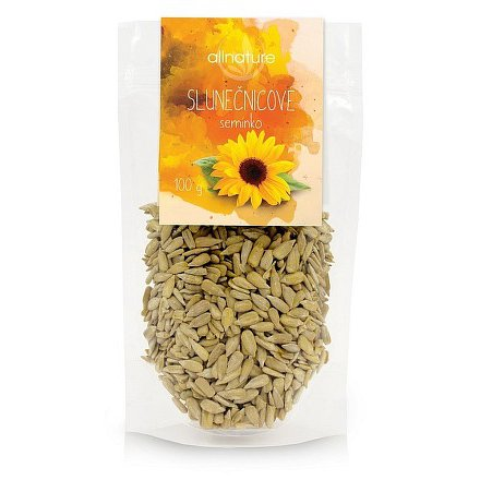 Allnature Slunečnicové semínko 100 g