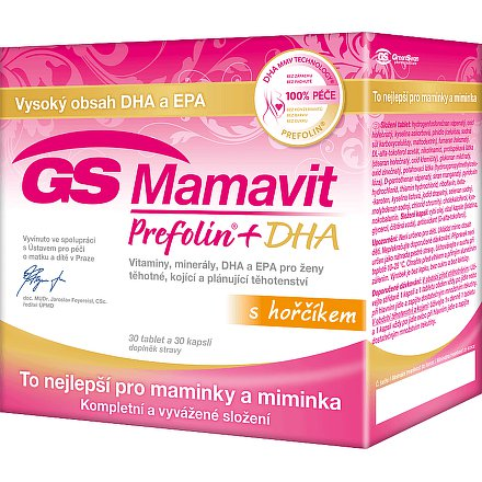 GS Mamavit Prefolin 30 + 30 tablet