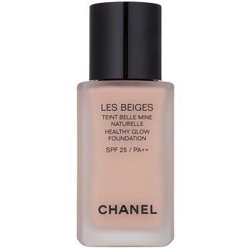 Chanel Les Beiges rozjasňující make-up pro přirozený vzhled SPF 25 odstín N°32 Rosé  30 ml