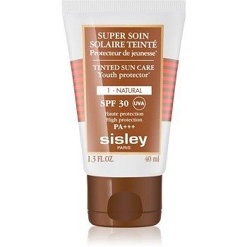 Sisley Sun ochranný tónovací krém na obličej SPF 30 odstín 1 Natural  40 ml