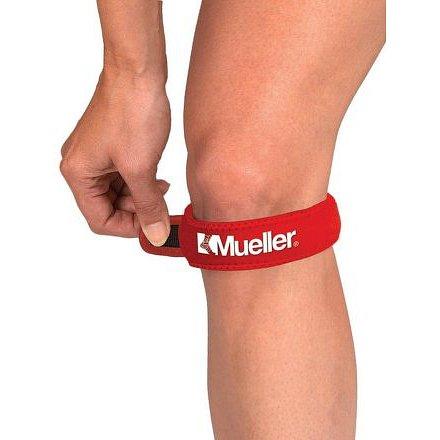 Mueller Jumper's Knee Strap, Podkolenní pásek - červený