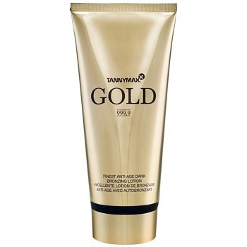 Tannymaxx Gold 999,9 opalovací krém do solária s bronzerem 200 ml