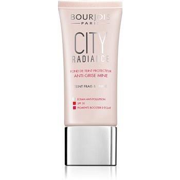 Bourjois City Radiance ochranný make-up SPF 30 odstín 01 Rose Ivory  30 ml