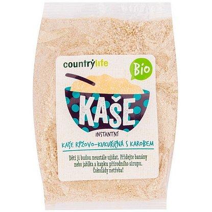 Country Life Kaše rýžovo-kukuřičná s karobem BIO 200g