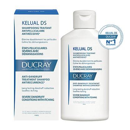 DUCRAY Kelual DS šamp.100ml redukce tvorby lupů