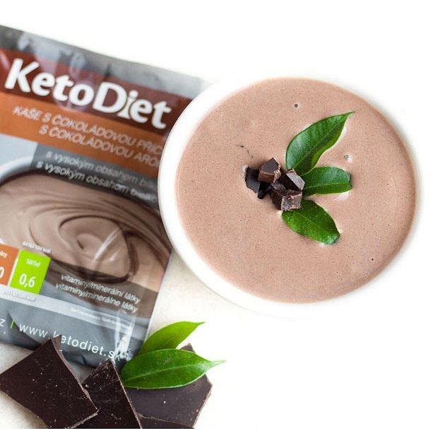 KetoDiet Proteinová kaše s čokoládovou příchutí 7porcí