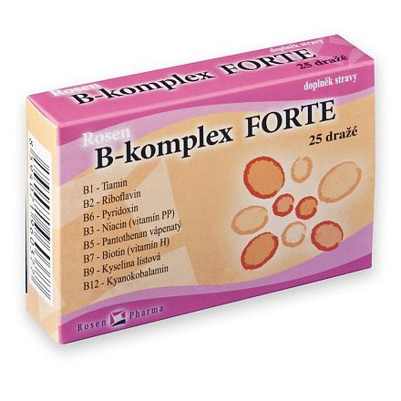 Rosen B-komplex FORTE dražé 25