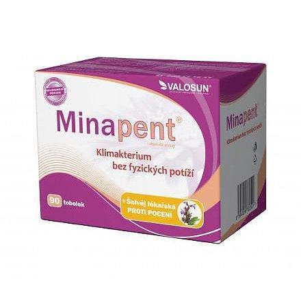 Minapent + šalvěj lékařská tobolky 90