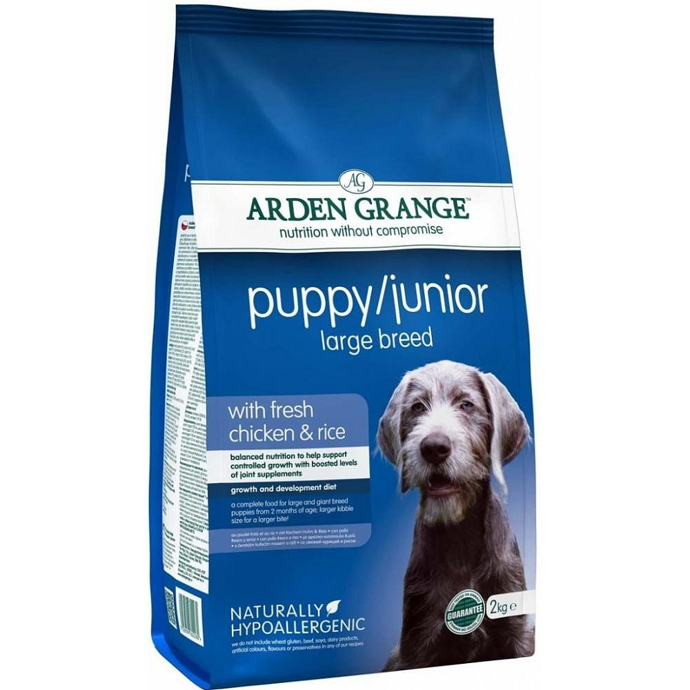 Arden Grange Puppy/Junior Large Breed 2kg