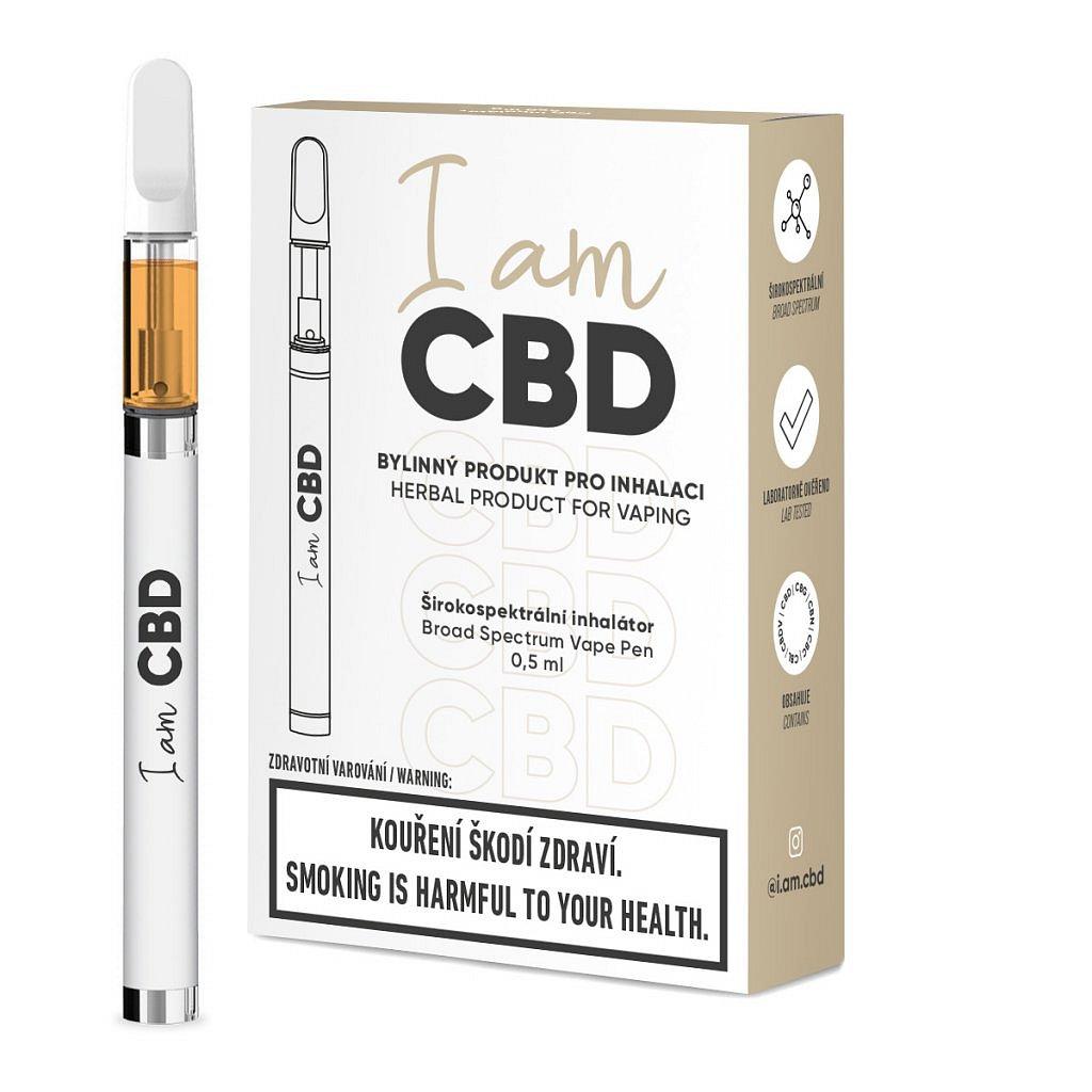 I am CBD inhalátor širokspektrální CBD original 1ks