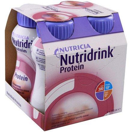 Nutridrink Protein lesní ovoce por.sol.4x200ml Nový