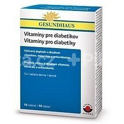 Vitaminy pro diabetiky tablety 90