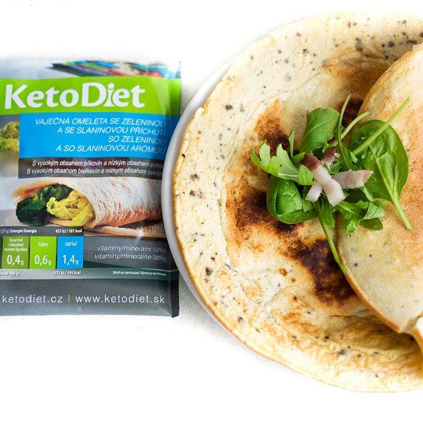 KetoDiet Proteinová omeleta se slaninovou příchutí 7porcí