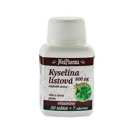 MedPharma Kyselina listová 800 mcg tablety 37