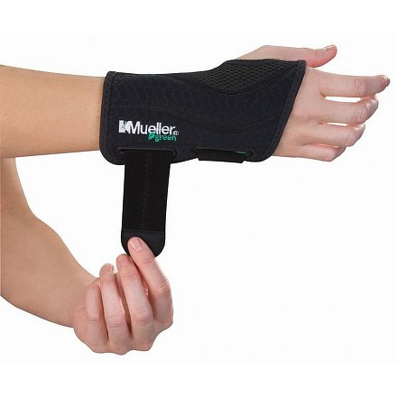 Mueller Green, Fitted Wrist Brace, Ortéza na zápěstí -  L/XL pravá