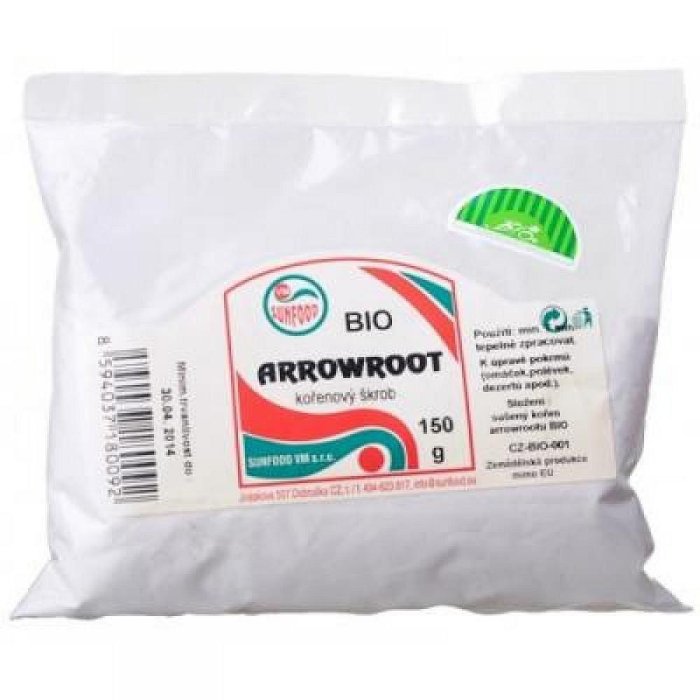 Arrowroot  kořenový škrob BIO 150 g