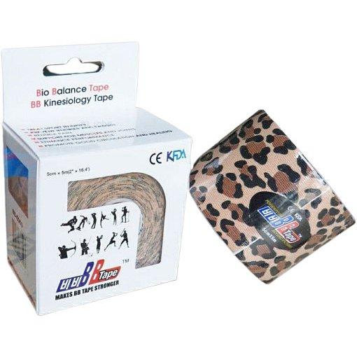 BB Tape Kineziologický tejp 5cmx5m -leopard
